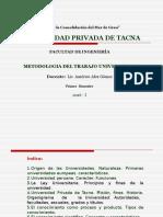Metodologia Del Trabajo Universitario Diapositiva U