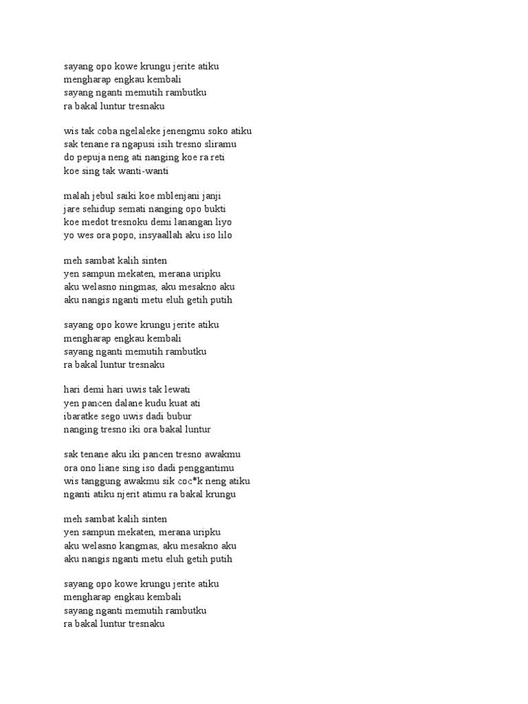 Lirik lagu sayang stopboris Gallery