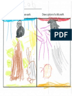 kindergarten student work clean earth vs  dirty earth pdf  1