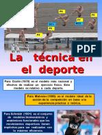 La Técnica en El Deporte. 2016