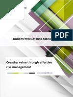 Fundamentals of Risk Management Brochure