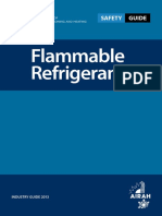 Flammable Refrigerants Safety