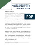 e. Pendekatan, Metodologi Dan Program Kerja (Agus)