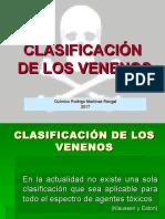 I.2 Casificación de los Venenos.ppt