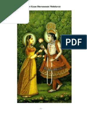 Sri Krsna Bhavanamrita Mahakavya | Nature | Religion