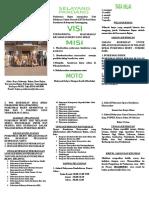 1.1.1.b. Brosur, Leaflet Dan Papan Pemberitahuan