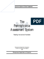 The Pennsylvannia Assessment System