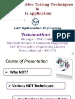 NDT & Its Applications