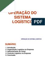 Aula OperacaoSistemaLogistico