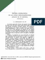 Esquema general de las letras hispanoamericanas_ Juan José Arrom
