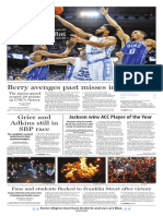 The Daily Tar Heel for March 6, 2017