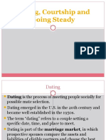 Lecture 7 Dating Courtship and Going Steady