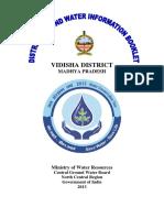 Vidisha water resources