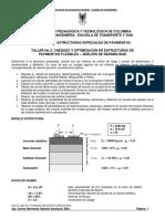 Taller Optimización de Estructuras de Pavimentos Flexibles 2s 2016