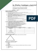 Examen Bimestral de Historia III Bimestre 5-6unidad