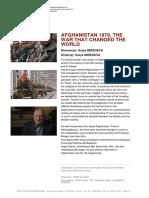 Afganistan war