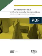 Propuesta Curricular Matematicas