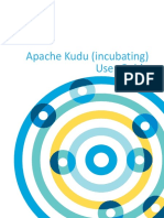 Apache Kudu User Guide