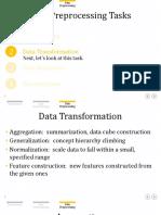 Data Transformation- Normalizaion