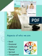 4 Assignment 1 - Wellness, Handout 2
