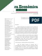 Claudio Roberto Amitrano - O Dilema Da Política de Desenvolvimento POL ECON EM FOCO