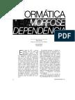 Peter Evans - Informática a Metamorfose Da Dependência NOVOS ESTUDOS