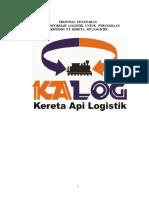 Proposal penawaran sistem informasi logistik untuk perusahaan ekspedisi PT. Kereta Api logistik