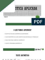 Estatística Aplicada - GT - 01