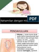 Kehamilan Dengan Mioma Uteri