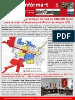 Boletín del PSOE de San Martín de la Vega Marzo 2017