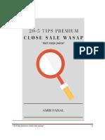 205 Tips Premium Close Sale Wasap 2 1