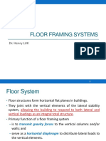 3. Floor Framing Systems