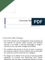 LectureNo_17 Conc Mix Design Ppt