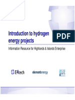 1 Introduction to Hydrogen Energy Projects