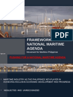 Framework for Philippine Maritime Agenda - Presentation by Ms Merle San Pedro