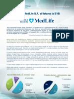 Despre MedLife S.a. Si Listarea La BVB