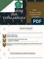Ppt Epistaksis - Dm Ni Putu Yunita Ps - 15710097
