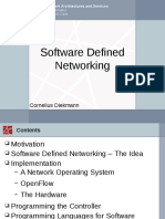 Software Defines Networking