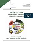 Rapport Financier Et RH 2016