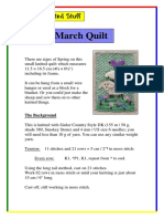 March Quilt