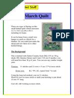 March Quilt