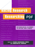 France Winddance Twine, Jonathan Warren-Racing Research, Researching Race_ Methodological Dilemmas in Critical Race Studies-NYU Press (2000).pdf
