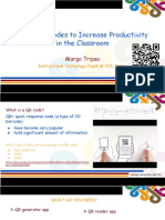 3.2 QR Codes Increase Productivity Margo Tripsa