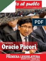 INFORME 001 - Congresista Orario Pacori