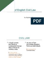 Unit 29 - Types of English Civil Law11