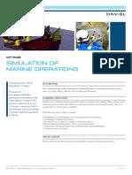 SE 21 Simulation of Marine Operations Tcm8 10797