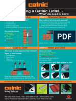 how to select lintel by Catnic.pdf