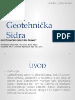 Geotehnicka Sidra