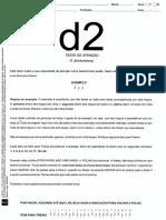 D2 - Folha de Respostas