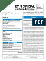 Boletín Oficial de la República Argentina, Número 33.578. 06 de marzo de 2017